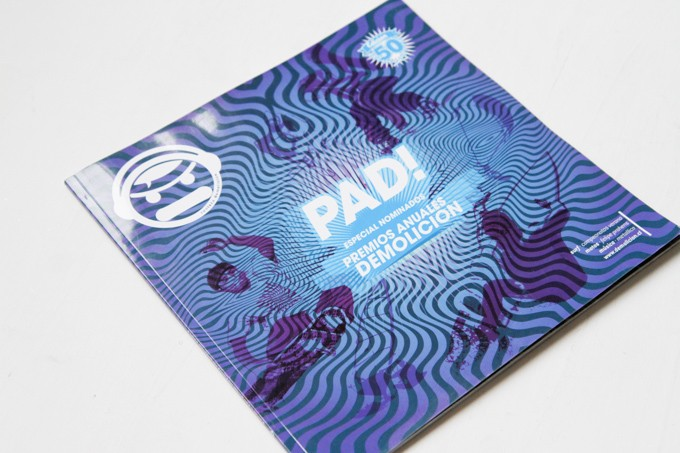 Especial nominados PAD, Revista Demolición Nº 50