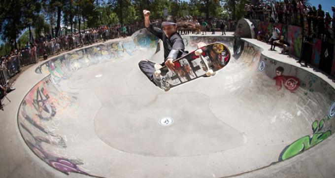 Volcom In Color Skate Tour en Santiago – Skatepark Parque O'Higgins