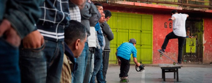 Skate en la penitenciaría de Santiago